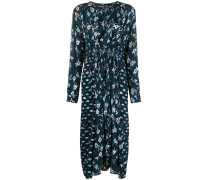 Evelyn floral midi dress