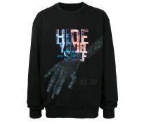 """Sweatshirt mit """"Hide Yourself""""-Print"""