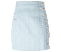 - Mini-Jeansrock mit dekorativen Knöpfen - women