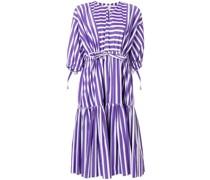 Ausgestelltes Kleid mit Streifenmuster