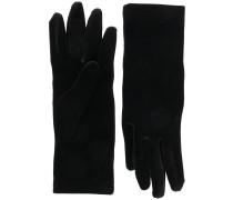 Handschuhe in Samtoptik