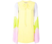 contrast-sleeves dress