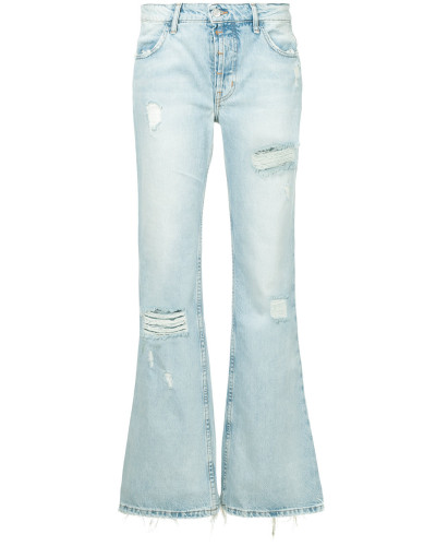 Jeanshose in Distressed-Optik