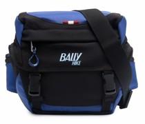 logo zipped belt bag
