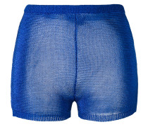 - knitted mini shorts - women - Polyester/Acetat