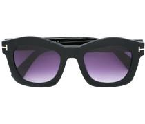 Eckige Sonnenbrille mit Farbverlauf - women