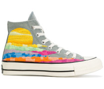 High-Top-Sneakers mit Print