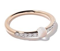 18kt 'M'ama non m'ama' Ring aus Rotgold
