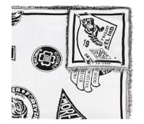 Schal mit Patch-Print