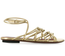 Sandalen im Metallic-Look, 20mm