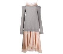 Kleid mit Pullover