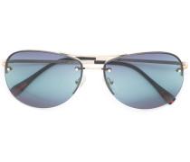 - Klassische Pilotenbrille - women - Metall