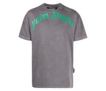 T-Shirt mit ausgeblichenem Effekt
