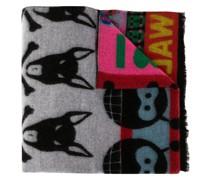 Schal mit Tiere-Print