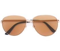 Sonnenbrille mit Webstreifen - men - Metall