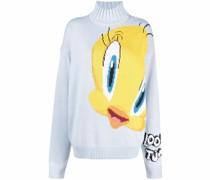 Tweety Intarsien-Pullover