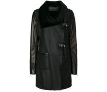 Mantel mit Oversized-Kragen - Unavailable
