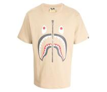 A BATHING APE® shark-print cotton T-shirt