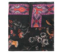 Kaschmirschal mit floralem Print