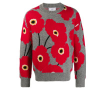 Sweatshirt mit Blumen