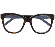 Brille mit Oversized-Rahmen