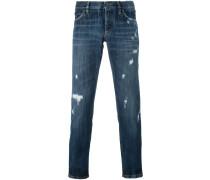 Jeans in Distressed-Optik - men - Baumwolle - 44