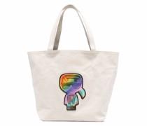 Wendbarer K/Pride Canvas-Shopper