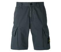 Cargo-Shorts mit Logo-Patch - men - Baumwolle