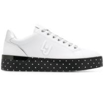'Silvia' Sneakers mit Print