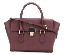 Mittelgroße Handtasche mit Logo