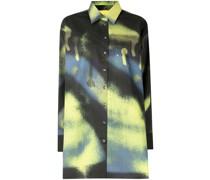 Oversized-Hemd mit Print