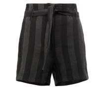 Gestreifte Shorts - women