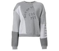 Sweatshirt mit Patchwork-Optik