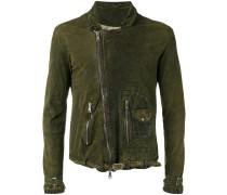 Lederjacke mit Reißverschluss - men - Leder - 48