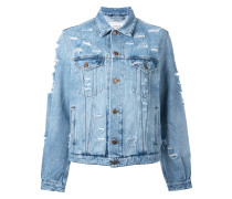 Yeah distressed denim jacket