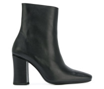 mid-heeled ankle boots