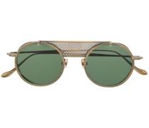 Sonnenbrille mit Steg in Netzoptik