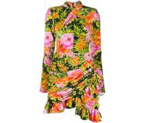 Jersey-Kleid mit Blumenmuster