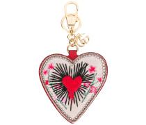 Schlüsselring mit Herz-Anhänger