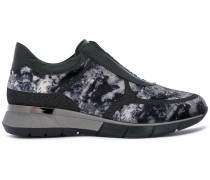 patterned sneakers