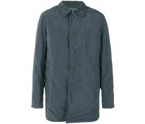 Mittellanger Mantel mit Knopfleiste - men