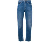 Boyfriend-Jeans mit Taschen