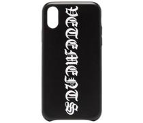 iPhone XS-Hülle mit Gothic-Logo