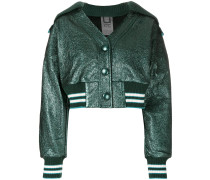 high shine jacket