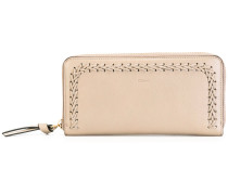 - 'Hudson' top-stitched wallet - women