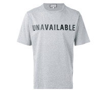 "T-Shirt mit ""Unavailable""-Print - men"