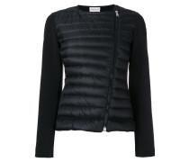 Cropped-Jacke mit Dauneneinsatz