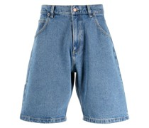 "Jeans-Shorts mit ""Rassvet""-Stickerei"