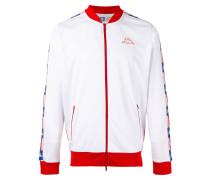 - logo zipped jacket - men - Polyester - S