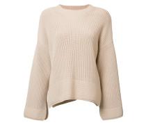 - Gerippter Pullover - women - Baumwolle/Nylon